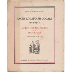 Pages d'histoire locale,...