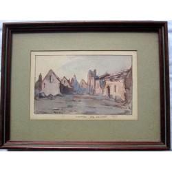 « Village de Vauxrot. 1917...